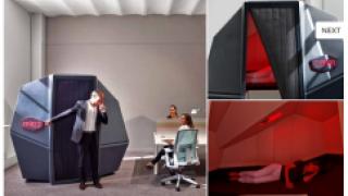 Calmspace предлагает интерьерное решение для отдыха в офисе