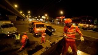 Московский асфальт заменят бетонным покрытием