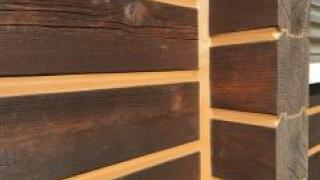 Особенности герметизации дома из профилированного бруса
