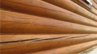 Решение для избавления от трещин на доме из сруба