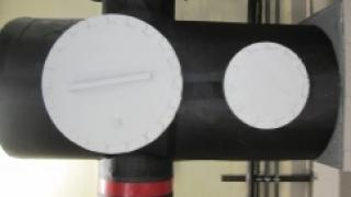 Теплоизоляция задвижек в теплопункте
