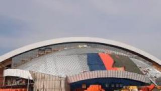Уникальный ледовый дворец «Кузбасс» возводят с ПЕНОПЛЭКС®