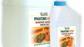 """""""Уралтекс-Сауна"""" – пропитка на водной основе для защиты деревянных поверхностей"""