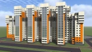 В Алтайском крае строится первый монолитно-панельный дом
