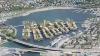 В Норвегии посреди озера построят эко-деревню