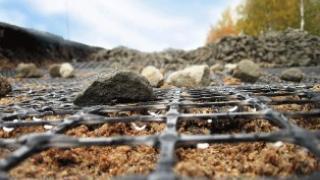 Георешетка дорожная и пластиковая геосетка