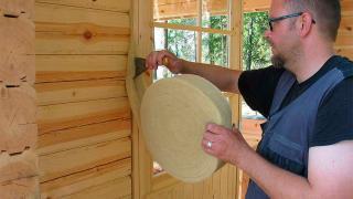 Чем утеплить деревянный сруб?