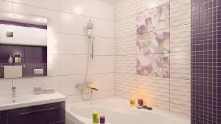 Как удачно отделать стены в ванной комнате