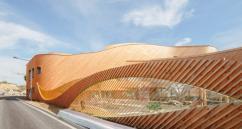 Архитектор Paul le Quernec создал необычный проект школы