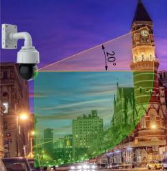 Axis представляет новую серию купольных PTZ-камер с технологиями Sharpdome и Lightfinder
