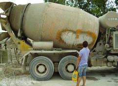 Чем очистить инструменты и бетоносмеситель от цемента