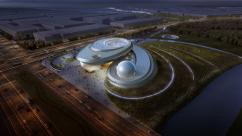 Ennead Architects создали невероятный проект планетария в Шанхае