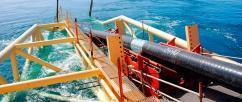 Газпром построил 220 км морской части газопровода Турецкий поток