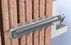 Компания fisсher предлагает эффективные решения для крепления к стенам из пустотелого кирпича
