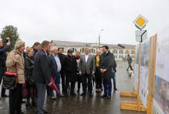 Минстрой России проверяет реализацию проектов благоустройства малых городов и исторических поселений