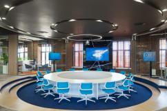 Перегородки NAYADA стали ярким штрихом нового интерьера офиса горно-химического комбината