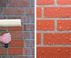 """""""Типром К"""" препятствует проникновению влаги внутрь стен"""