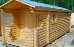 """""""Уралтекс-сауна"""" – пропитка для построек из древесины и бруса"""