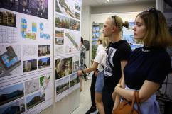 В Оренбурге показали лучшие архитектурные проекты