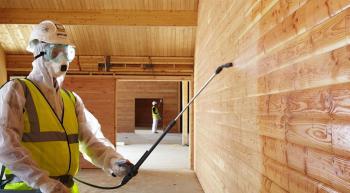 Использование огнезащитных пропиток при строительстве и ремонте