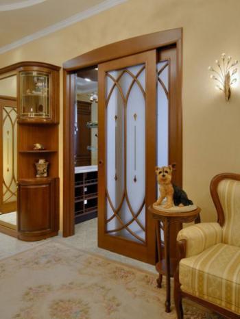 Использование межкомнатных дверей