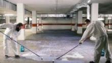 Для чего нужно обеспыливать бетон