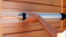 Герметизация деревянного дома зимой