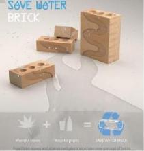 Инновационный кирпич поможет сохранить пресную воду на планете