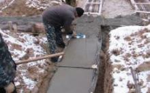 Как предотвратить замерзание бетона в холодное время года