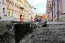 Полмиллиарда рублей выделят на ремонт дорог в Петербурге