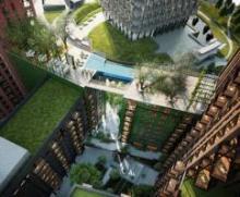 """Студии HAL architects разработала проект """"летающего"""" бассейна"""