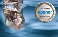 Uponor Aqua Pipe – лучшие трубы по версии теста RISE