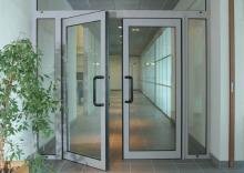 Алюминиевые двери в Хабаровске