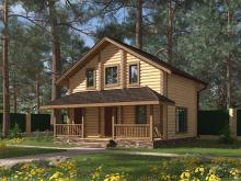 Нужна ли защитная обработка для дома из оцилиндрованного бревна?