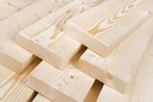 Древесина - самый популярный  строительный  материал
