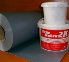 Однокомпонентный клей для усадочных и температурных швов — Пенепокси