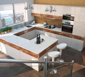 Заказать кухню изготовленную по уникальной технологии «Light Wood»